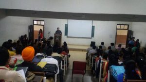 Pre–Placement Session by Internal Faculty