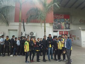 Industrial Visits Co-Co-Cola, Richhai