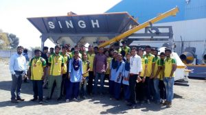 Industrial Visit Singh Construction, Richhai